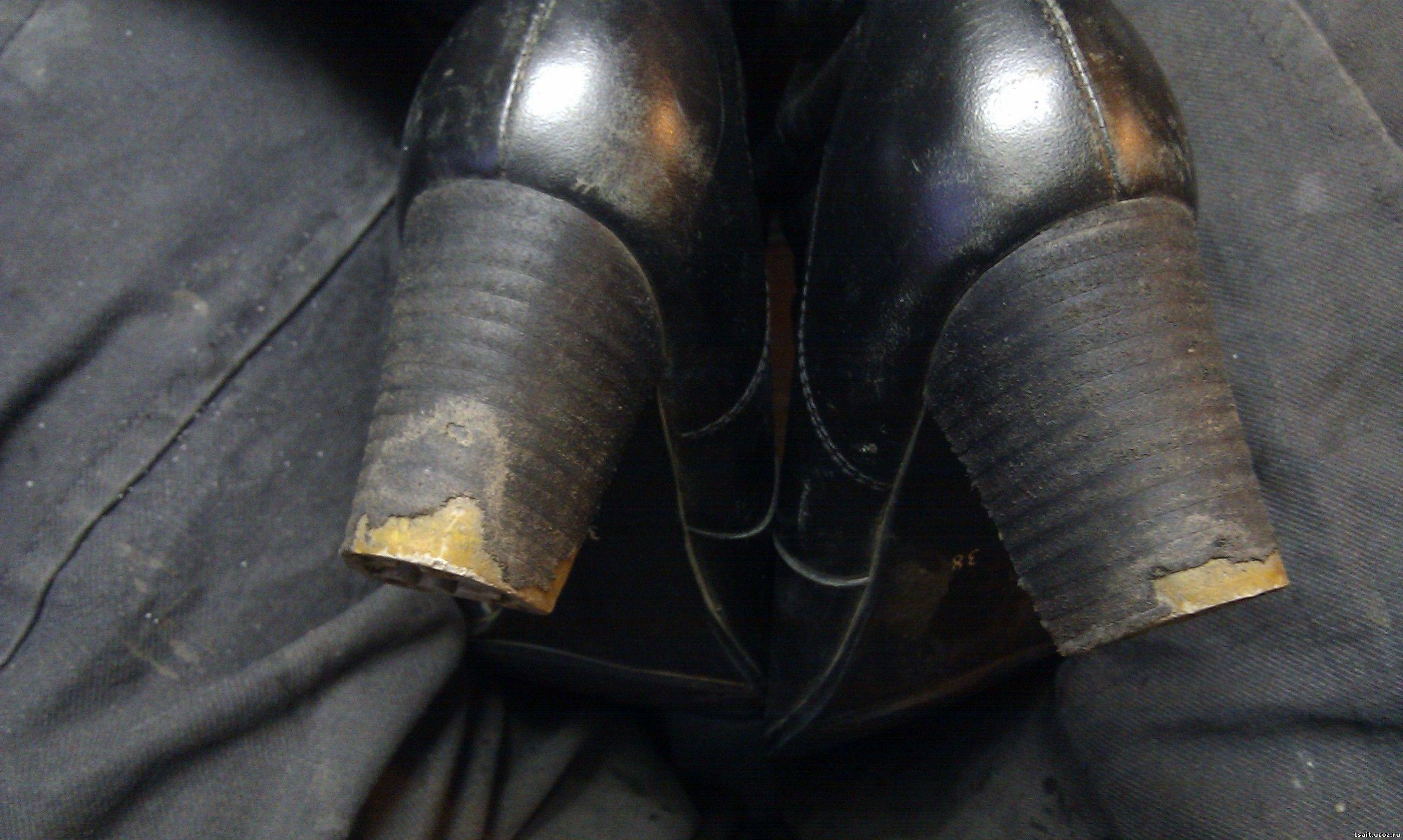 Набойки для обуви своими руками